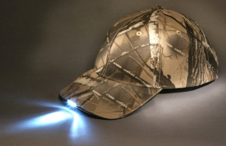 ALTAN 5-LED LIGHT CAP